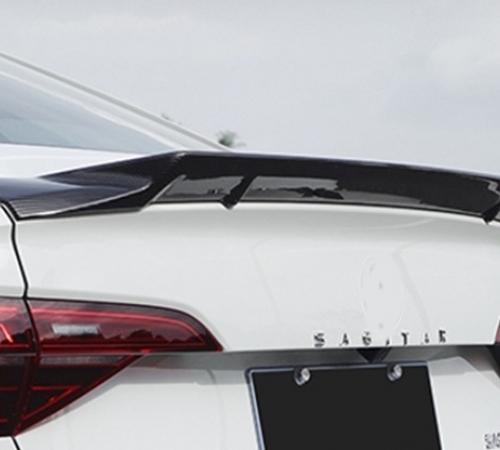 Cпойлер багажника Volkswagen Jetta 7 R-type ABS-пластик
