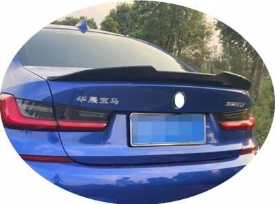 Спойлер на BMW G20 стиль М4 (ABS-пластик)