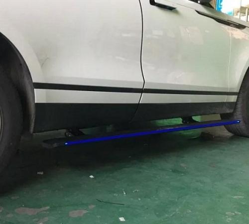 Пороги, подножки боковые Land Rover Velar с выездным механизмом (2017-...)