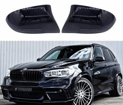 Накладки зеркал заднего вида BMW X3 F25 / X4 F26 / X5 F15 / X6 F16, черные