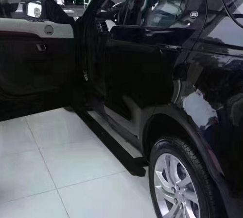Пороги, подножки боковые Land Rover Discovery Sport с выездным механизмом (2013-2019)
