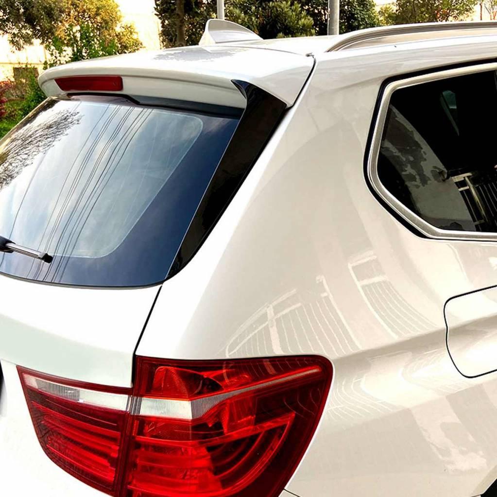 .Боковые спойлеры на заднее стекло BMW X3 F25