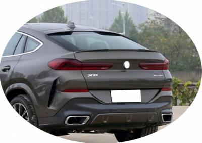 Спойлер багажника BMW X6 G06 М4, ABS-пластик