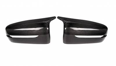 Накладки на зеркала BMW 3 G20 в стиле M, карбон