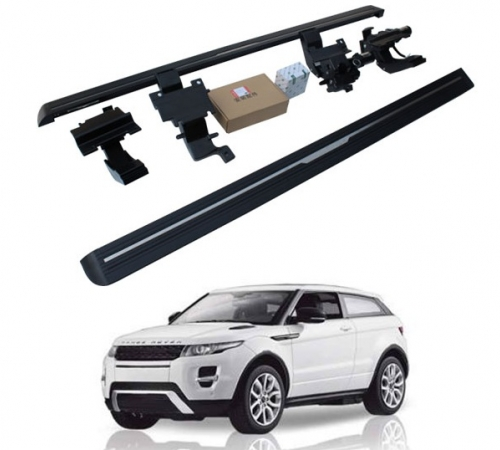 Пороги, подножки боковые Land Rover Evoque с выездным механизмом (2015-...)