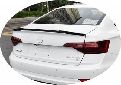 Спойлер багажника VW Jetta 7 (ABS-пластик)