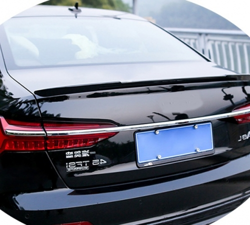 Спойлер багажника Audi A6 C8 V TYPE (ABS-пластик)