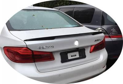 Cпойлер багажника BMW G30 Performance (ABS-пластик)