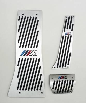 ".Накладки на педали BMW X5 E70 / E71 с логотипом ""М"""
