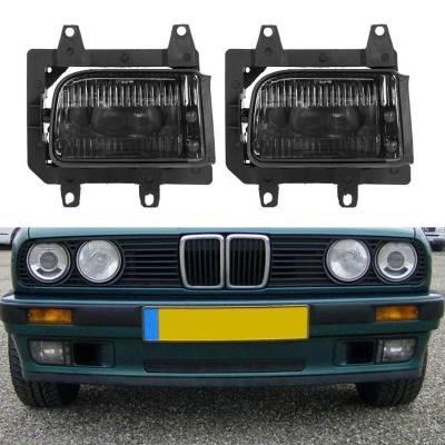Муляж противотуманок на BMW E30