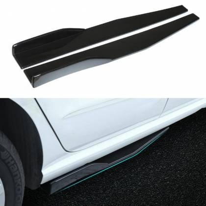 Накладки (диффузоры) порогов автомобиля универсальные