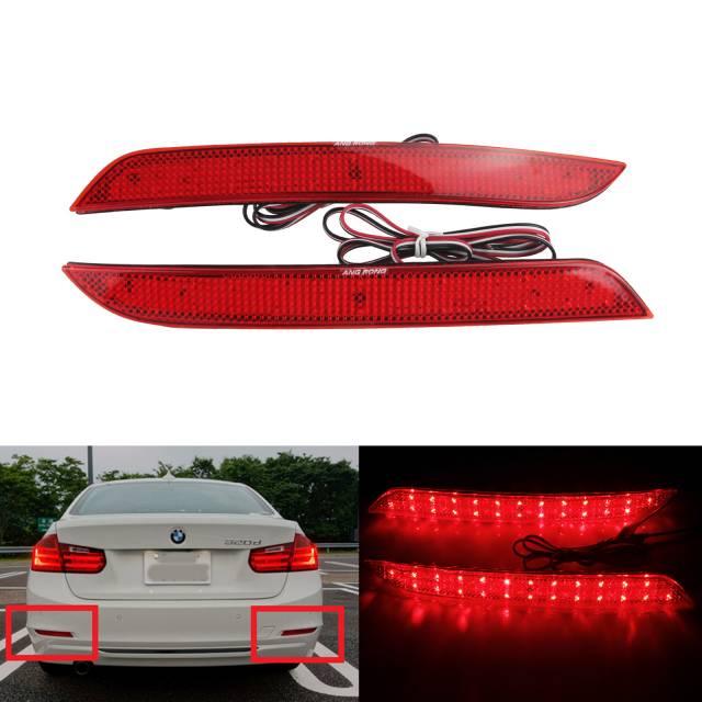 Стоп-сигналы на BMW красные
