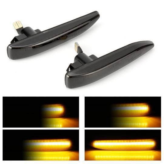 Динамические светодиодные указатели поворота для BMW E65/E66