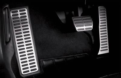 .Накладки на педали VW Passat B6, B7, CC