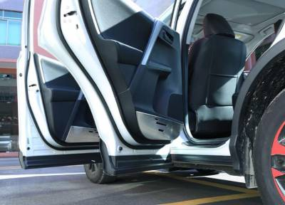 Накладки на внутреннею часть двери Toyota Rav 4