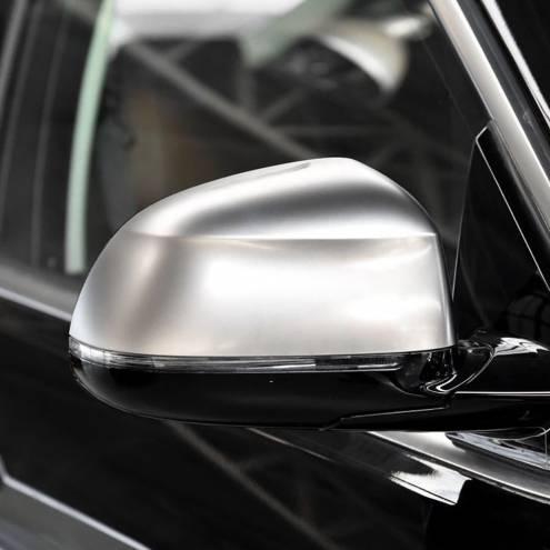 Накладки на зеркала BMW X3 G01, хром