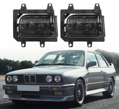 Противотуманки на BMW E30