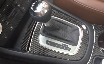 Комплект карбоновых накладок передней панели салона Audi Q3