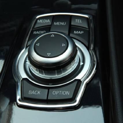 .Накладка на мультимедийные кнопки BMW
