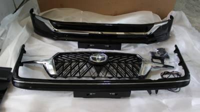 """Комплект обвеса на Toyota LC 200 """"Executive 2019"""" + решетка радиатора"""
