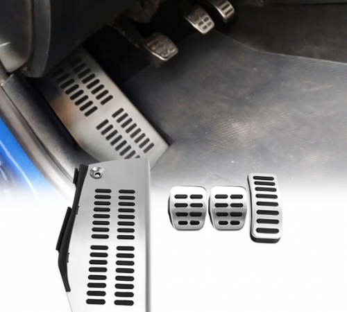 Накладки на педали Audi Seat Skoda Volkswagen (механика 4 штуки)