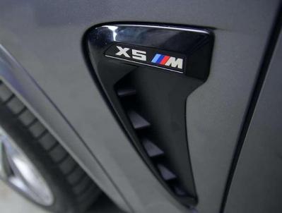 Накладки на крылья-жабры BMW X5 F15 X5M черный