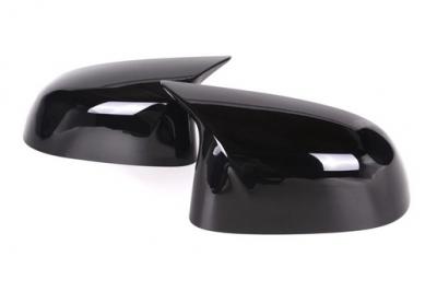Накладки на зеркала BMW X3 F25 черный глянец