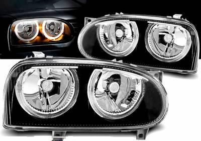 Оптика передняя, фары VW Golf 3