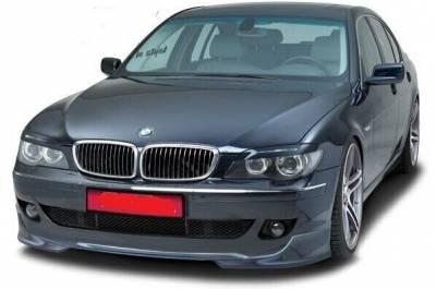 Накладка переднего бампера для BMW E65 рестайл