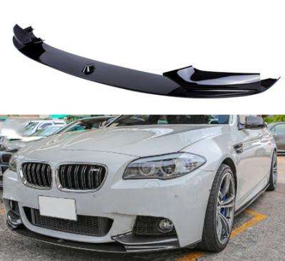 Накладка переднего бампера БМВ F10/F11 M-Tech M-Permormance (ABS-пластик)