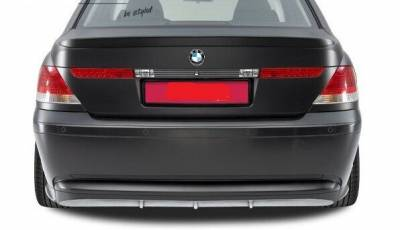 Накладка заднего бампера для BMW E65 дорестайл