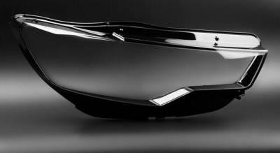 .Оптика передняя, стекла фар Audi A6 C7 дорестайл