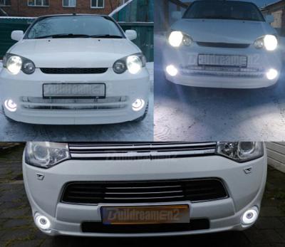 Противотуманные фары с DRL Opel Astra H / Astra G / Corsa D / Vectra C / Zafira B / Tigra