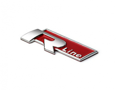 Эмблема на решетку радиатора Rline для Volkswagen