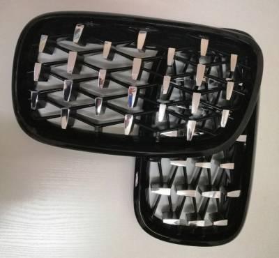 Решетка радиатора на BMW E70 / E71 Diamond