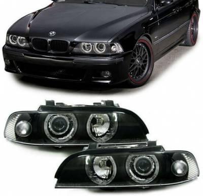 .Оптика передняя BMW E39, фары БМВ е39