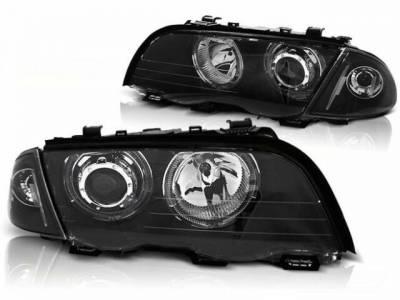 Оптика передняя, фары на БМВ E46 (Sedan / Combi)