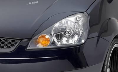 Накладки на фары (реснички) Ford Fiesta MK6