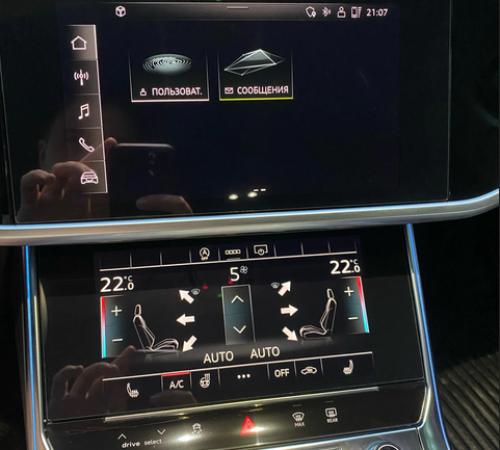 Защитные стекла для сенсорного экрана Audi A6 C8 / A7 (2018-...)