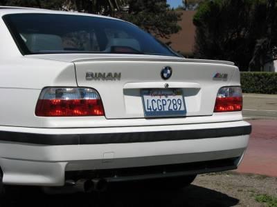 .Спойлер на BMW E36