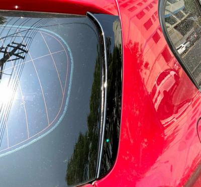 Боковые спойлеры на заднее стекло BMW F20 / F21