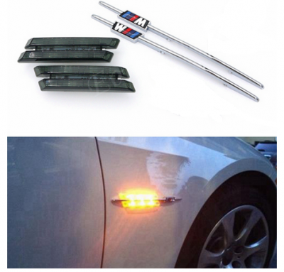 Динамический светодиодный указатель поворота BMW с эмблемой М