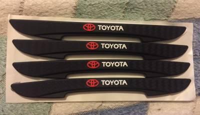 Защитные резиновые накладки на кузов Toyota