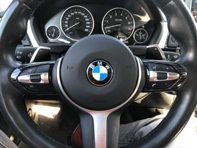 Накладки на руль BMW F20 / F22 / F30 / F32 / F10 / F06 / F15 / F16, карбон