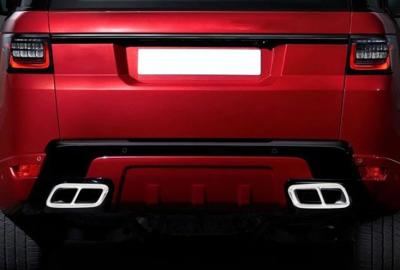 Накладки на выхлопные трубы Range Rover Sport (2018-...)