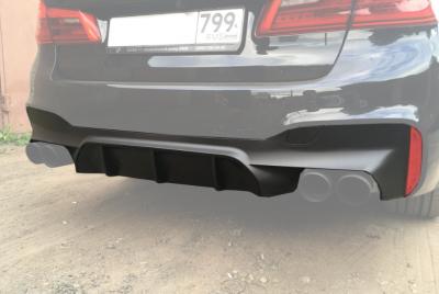 Накладка заднего бампера BMW 5 G30 / G31 М5 вар.2
