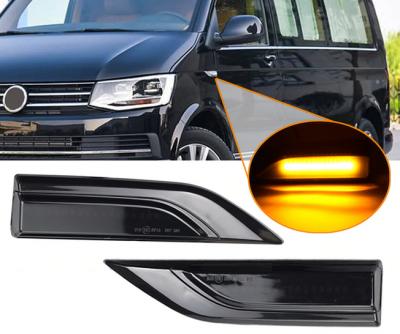 Динамические повороты VW Transporter T6 / Multivan T6 / Caddy 2K