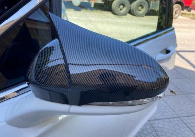 Накладки на зеркала Ford Mondeo MK5 М, под карбон (2014-2018)
