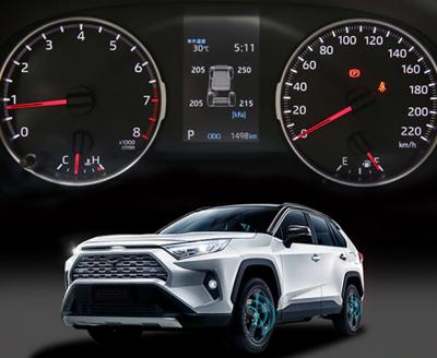 Система контроля давления в шинах Toyota Rav4 Xa50