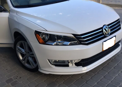 Реснички (бровки) VW Passat B7 (американка)